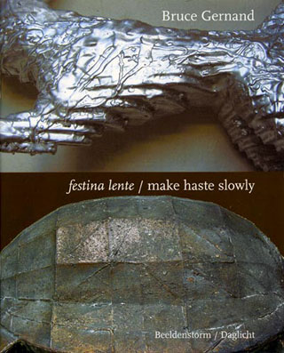 Festina Lente / make haste slowly publication image